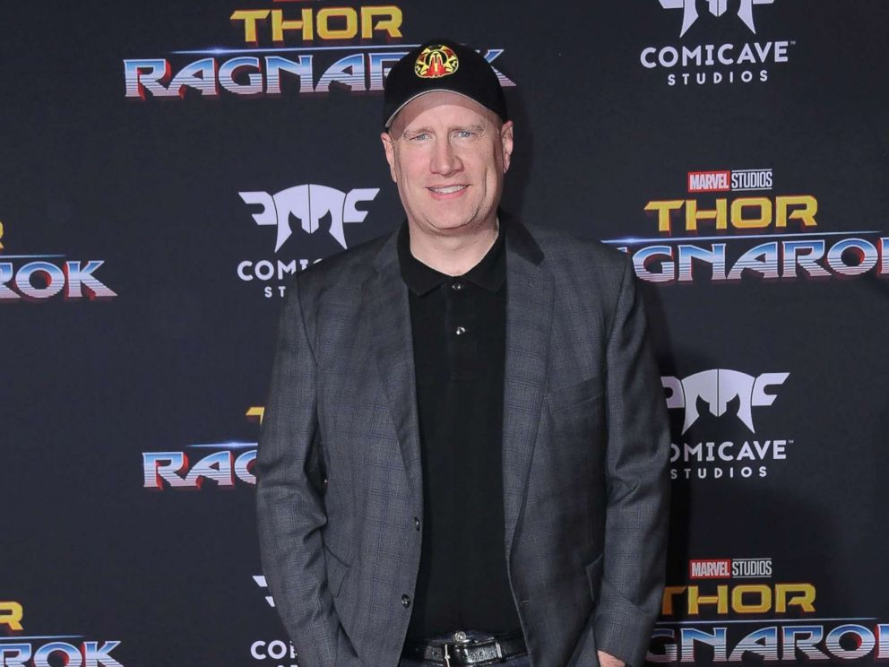 PHOTO: Producer Kevin Feige attends the World premiere of Disney and Marvels Thor: Ragnarok at El Capitan Theatre, Oct. 10, 2017 in Los Angeles.