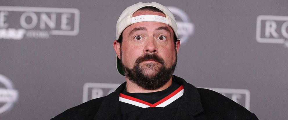 "PHOTO: Actor/director Kevin Smith attends the premiere of ""Rogue One: A Star Wars Story"" at the Pantages Theatre, Dec. 10, 2016, in Hollywood, Calif."