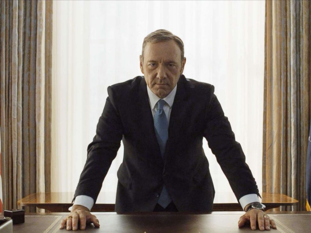 PHOTO: Kevin Spacey in a scene from Netflix House Of Cards, 2013.