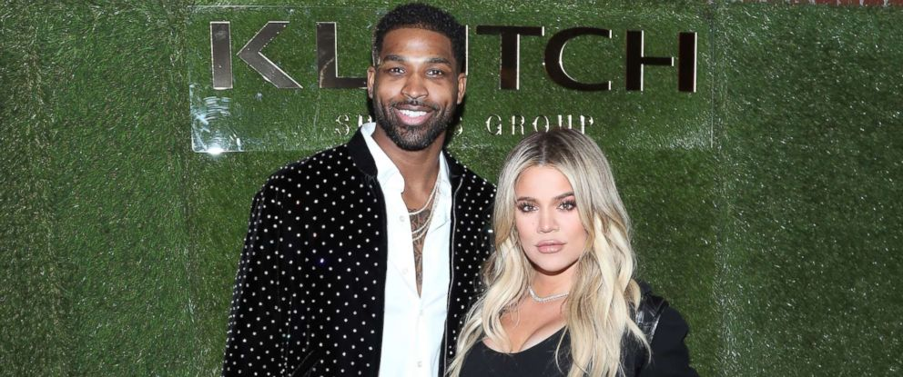 "PHOTO: Tristan Thompson and Khloe Kardashian attend the Klutch Sports Group ""More Than A Game"" Dinner Presented by Remy Martin at Beauty & Essex, Feb. 17, 2018 in Los Angeles."