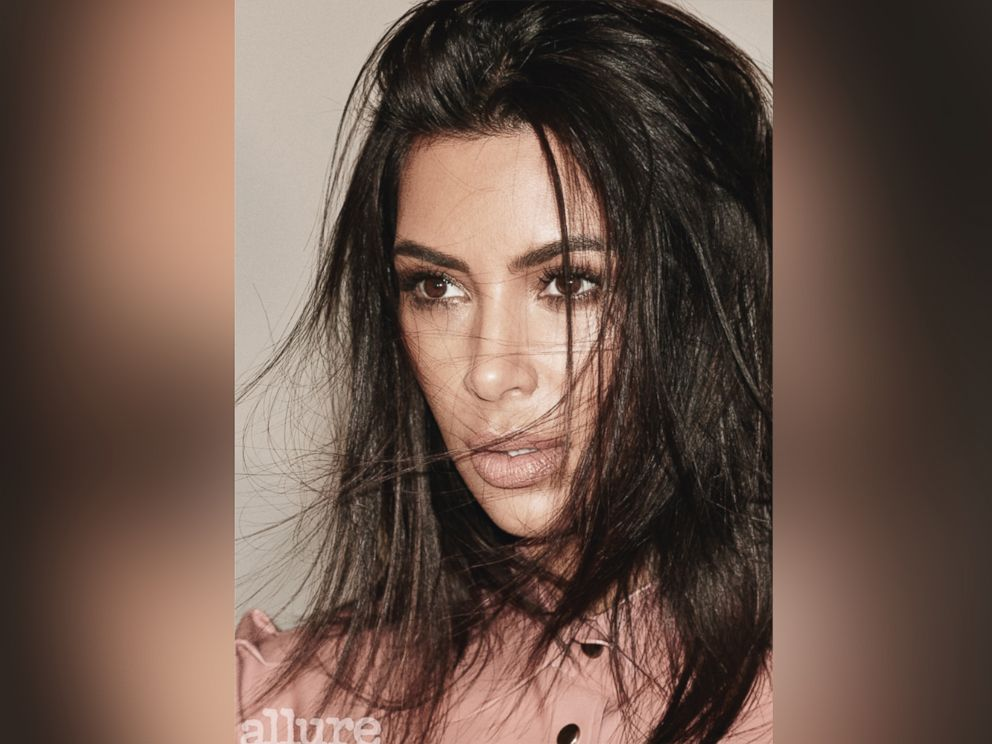 PHOTO: Kim Kardashian appears on the October cover of Allure magazine.