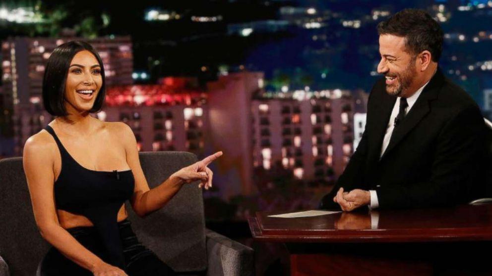 "Kim Kardashian West appeared on the Monday, July 30, 2019, edition of ""Jimmy Kimmel Live!"""