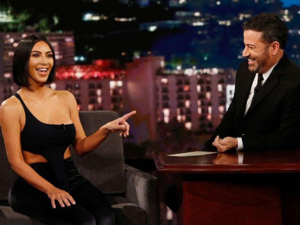 Kim Kardashian West appeared on the Monday, July 30, 2019, edition of Jimmy Kimmel Live!