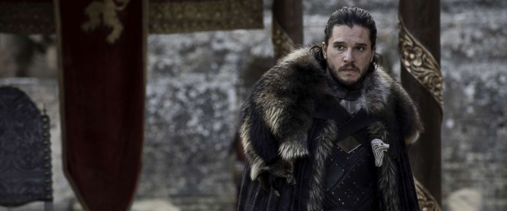 """PHOTO: Kit Harington in a scene from """"Game of Thrones."""""""