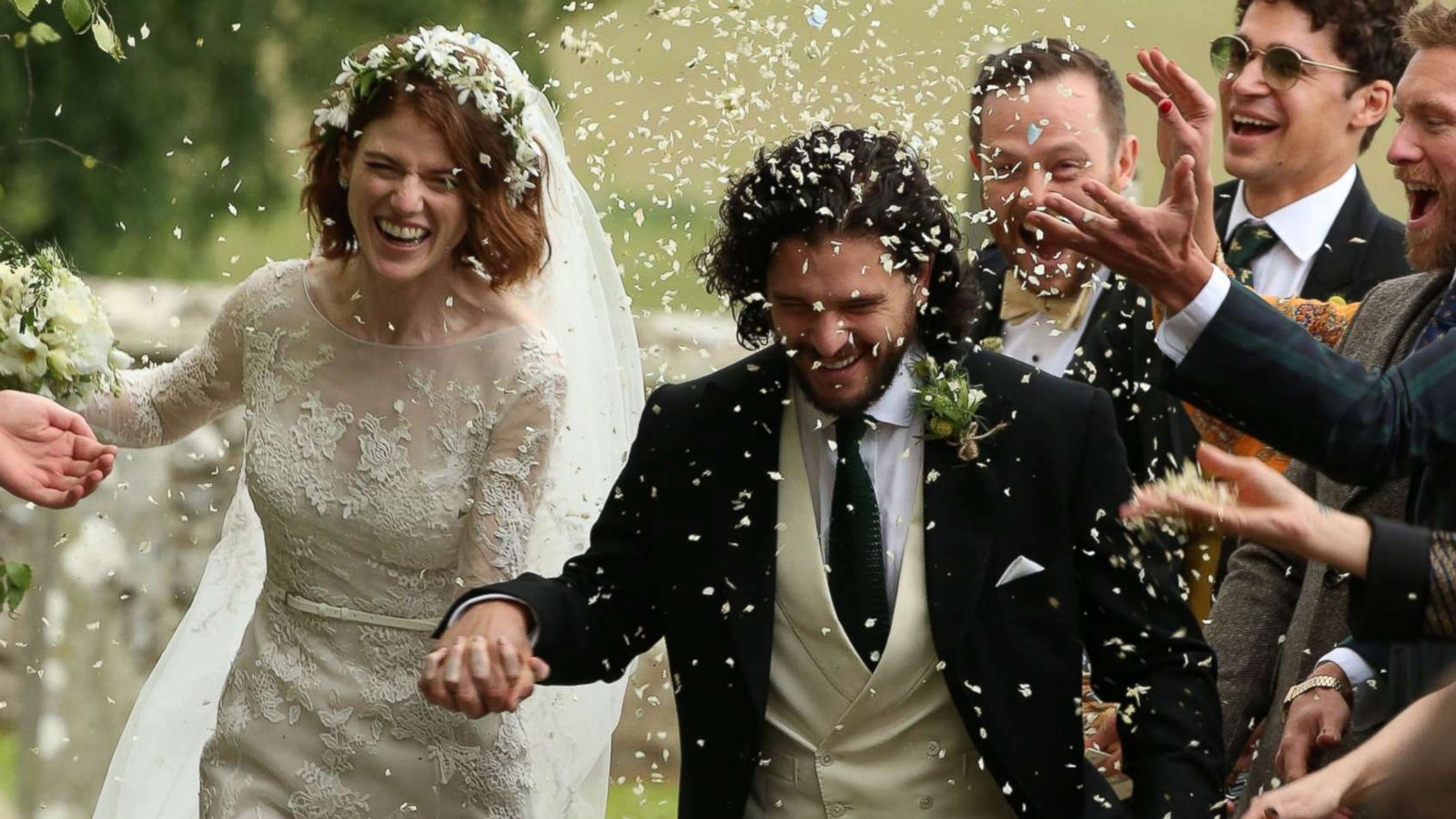Kit Harington Wedding.Inside Game Of Thrones Stars Kit Harington And Rose Leslie S