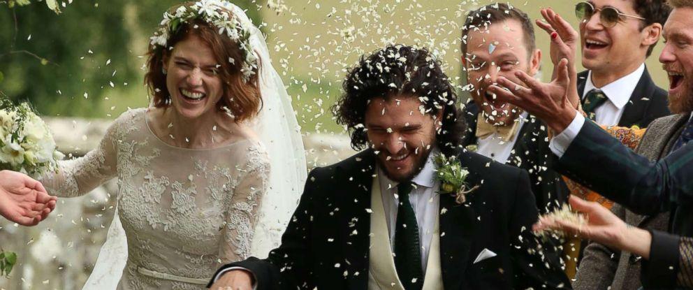 Inside 'Game of Thrones' stars Kit Harington and Rose Leslie's wedding in Scotland - ABC News