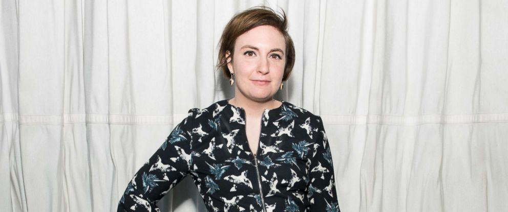 PHOTO: Lena Dunham attends the Brilliant Minds Initiative dinner at Gramercy Park Hotel Rooftop, May 1, 2018 in New York City.