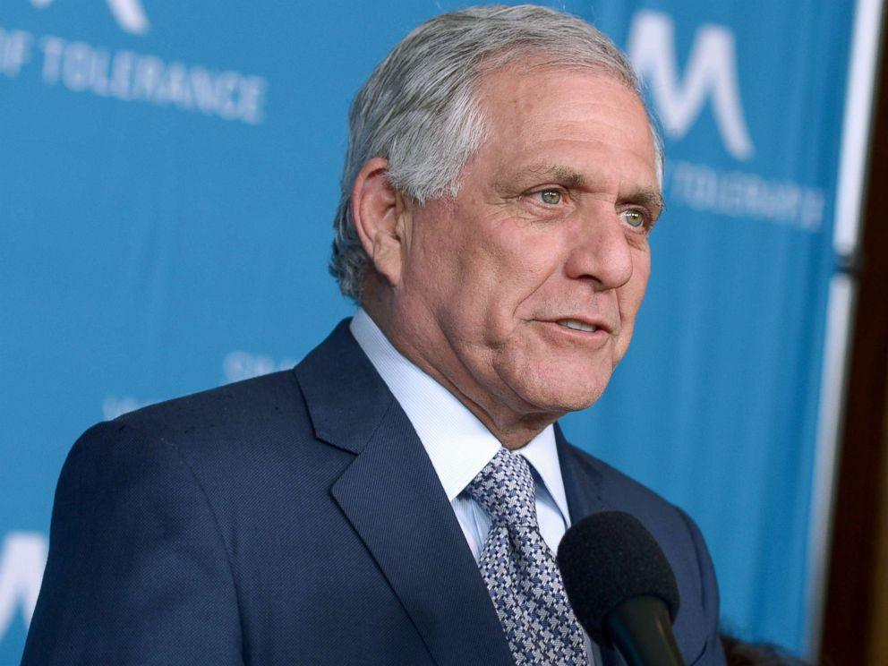 PHOTO: Les Moonves attends an even in his honor, March 22, 2018 in Beverly Hills, Calif.