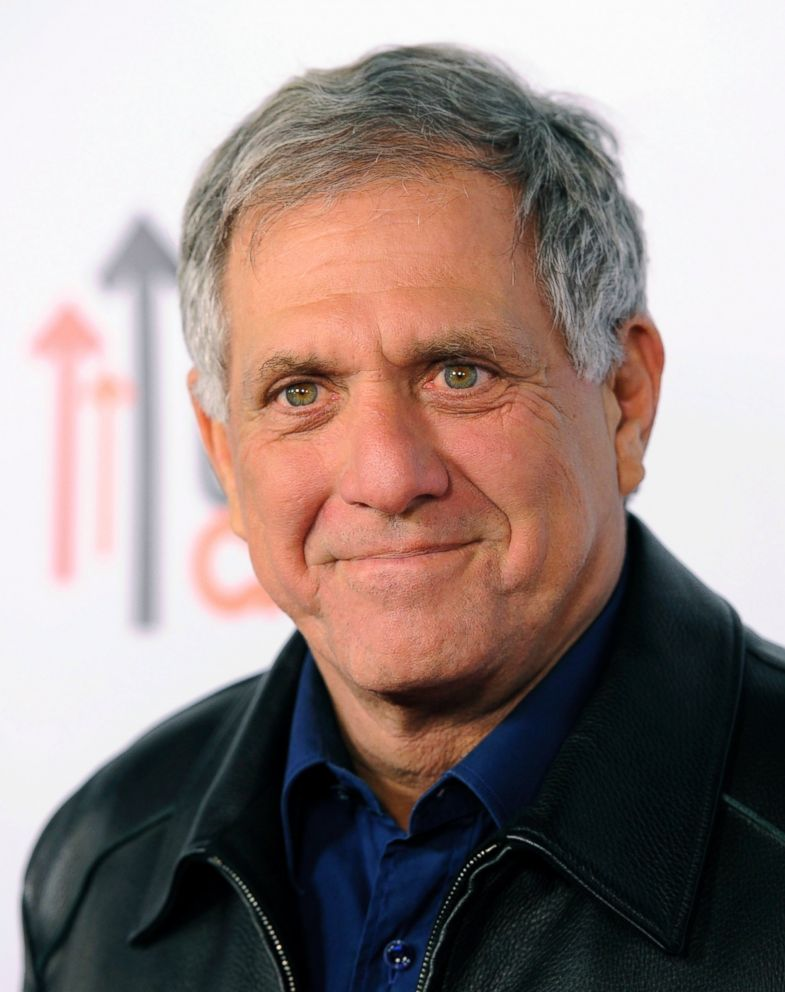 In this Oct. 8, 2013 file photo, Les Moonves, president and CEO of the CBS Corporation, poses at the CBS Daytime After Dark comedy event in West Hollywood, Calif.