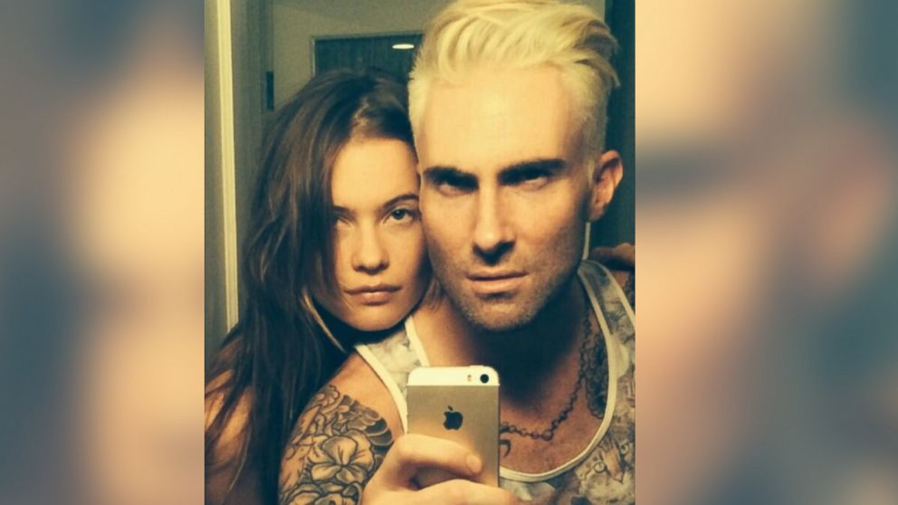 Adam Levine Dyed His Hair and Nothing Will Be the Same Again - ABC News