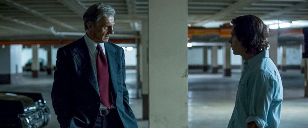 """PHOTO: Liam Neeson and Julian Morris in """"Mark Felt: The Man Who Brought Down the White House."""""""
