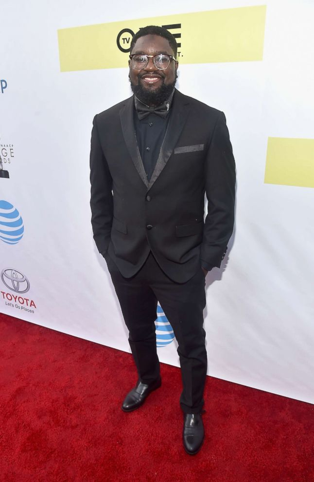Actor Lil Rel Howery attends the 48th NAACP Image Awards at Pasadena Civic Auditorium, Feb. 11, 2017 in Pasadena, California.