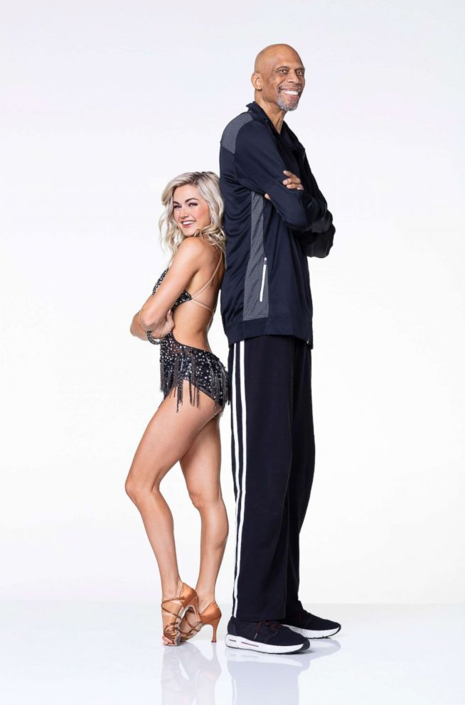 PHOTO: NBA legend Kareem Abdul-Jabbar is paired up with pro and reigning Mirror Ball champ Lindsay Arnold.