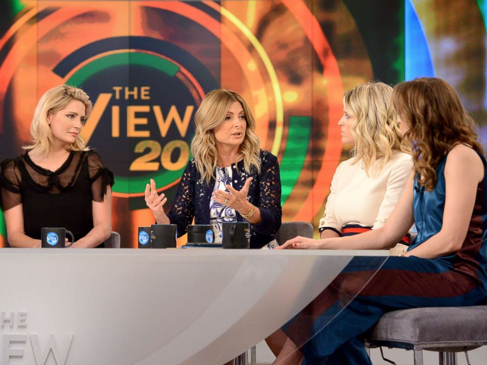 PHOTO: Lisa Bloom, center, on The View, July 14, 2017.