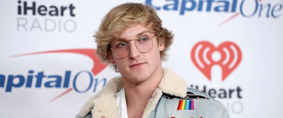 PHOTO: Internet personality Logan Paul arrives at 102.7 KIIS FMs Jingle Ball 2017 at the Forum, Dec. 1, 2017, in Inglewood, Calif.