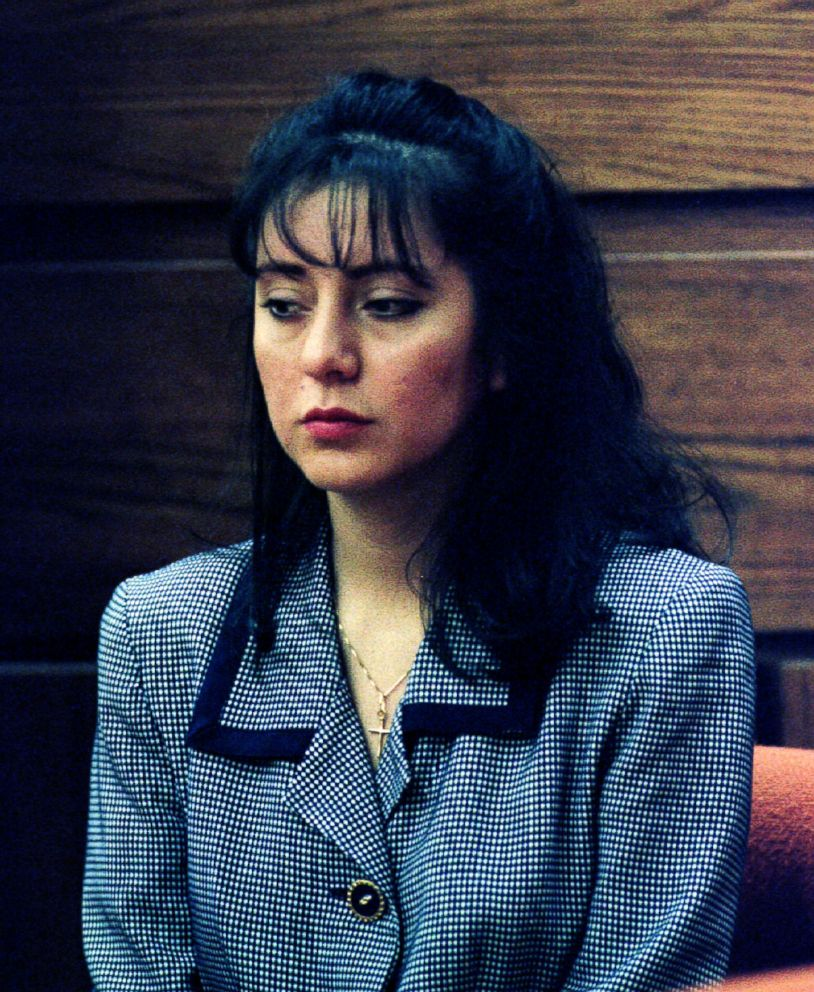 PHOTO: Lorena Bobbitt awaits the beginning of her malicious wounding trial at the Prince William Circuit Courthouse in Manassas, Va., Jan. 10, 1994.