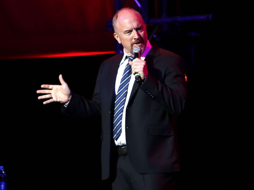 PHOTO: Louis C.K. performs during the 10th Annual Stand Up For Heroes Show at Madison Square Garden on Nov. 1, 2016 in New York City.