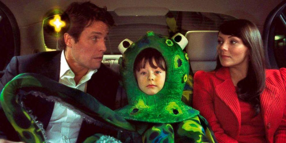 PHOTO: Hugh Grant and Martine McCutcheon in a scene from Love Actually.