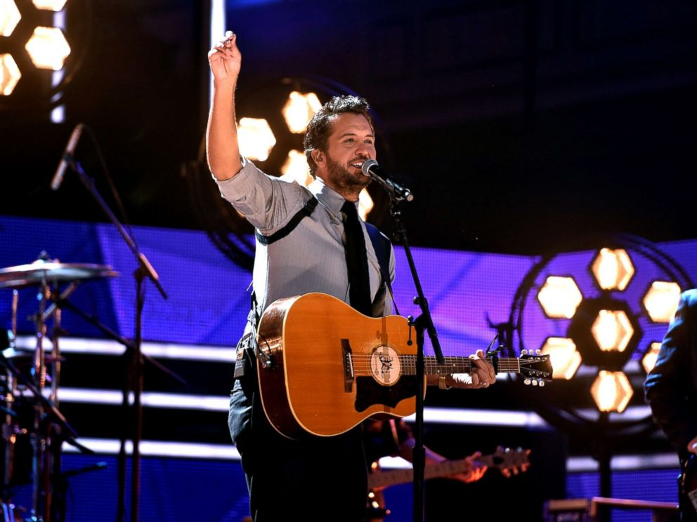 PHOTO: Honoree Luke Bryan performs onstage at the 2017 CMT Artists Of The Year, Oct. 18, 2017, in Nashville, Tennessee.