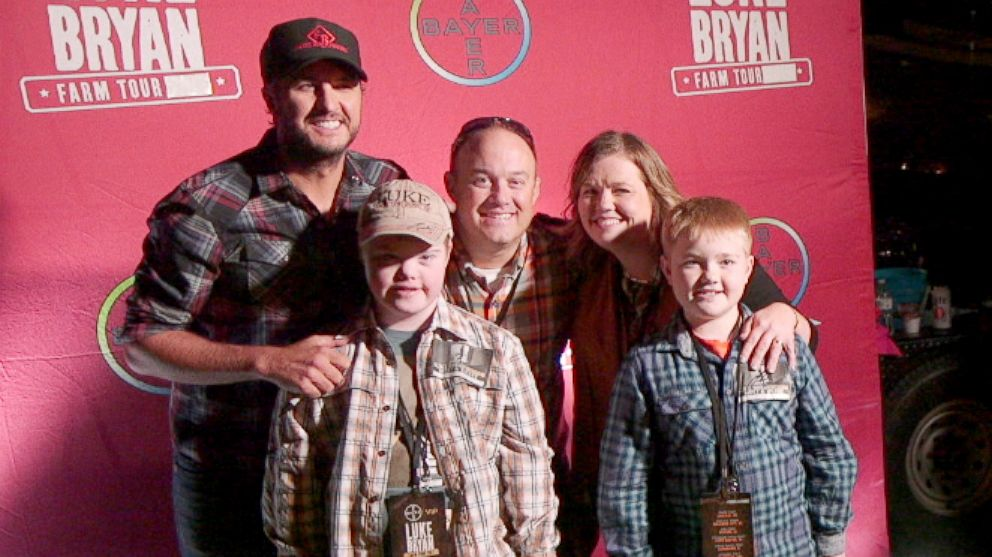 Luke bryan on meeting 14 year old who learned to pronounce the luke bryan on meeting 14 year old who learned to pronounce the letter k with the singers name abc news m4hsunfo