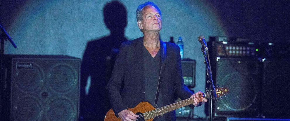 PHOTO: Musician Lindsey Buckingham performs on stage at Humphreys on October 19, 2017 in San Diego.