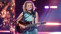 "PHOTO: Maddie Poppe performs during the ""American Idol"" grand finale."