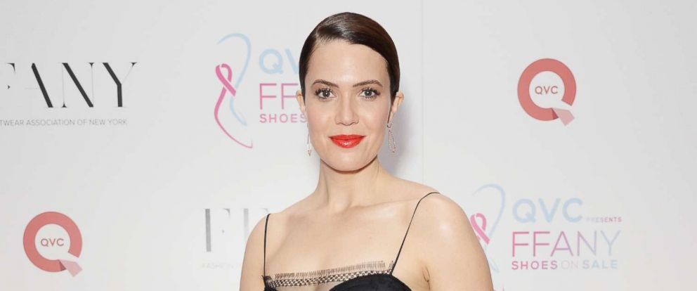 """PHOTO: Mandy Moore attends Annual QVC presents """"FFANY Shoes On Sale"""" Gala at the Ziegfeld Ballroom, Oct. 10, 2017, in New York City."""