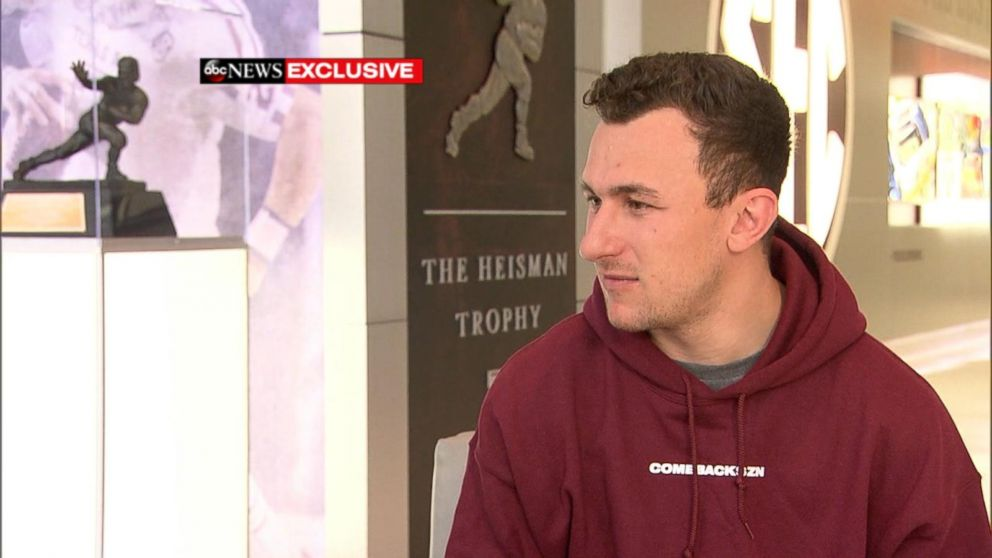 Former NFL quarterback Johnny Manziel opens up about his career and his hopeful comeback in an interview with ABC News' T.J. Holmes.