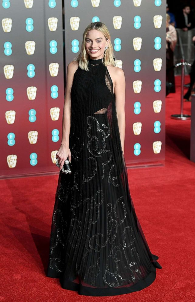 PHOTO: Margot Robbie attends the EE British Academy Film Awards (BAFTAs) held at Royal Albert Hall, Feb. 18, 2018 in London.