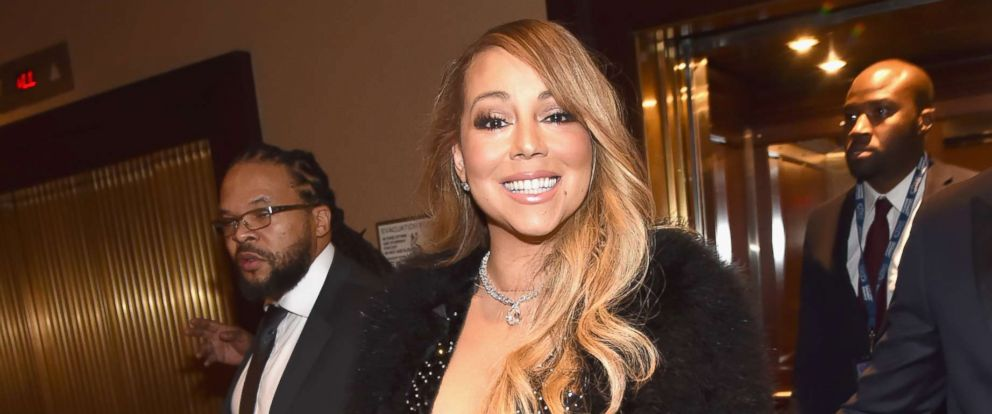PHOTO: Mariah Carey attends the Clive Davis and Recording Academy Pre-GRAMMY Gala and GRAMMY Salute to Industry Icons Honoring Jay-Z, Jan. 27, 2018, in New York.