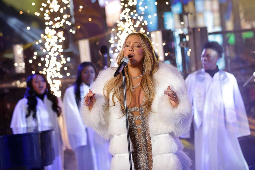 Mariah Carey New Years 2020 Mariah Carey redeems herself with New Year's Eve 2018 live