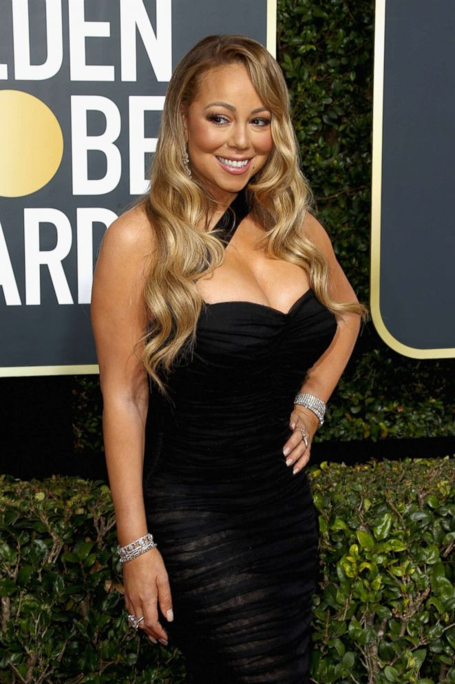 PHOTO: Mariah Carey attends the 75th Annual Golden Globe Awards at The Beverly Hilton Hotel, Jan. 7, 2018, in Beverly Hills, Calif.