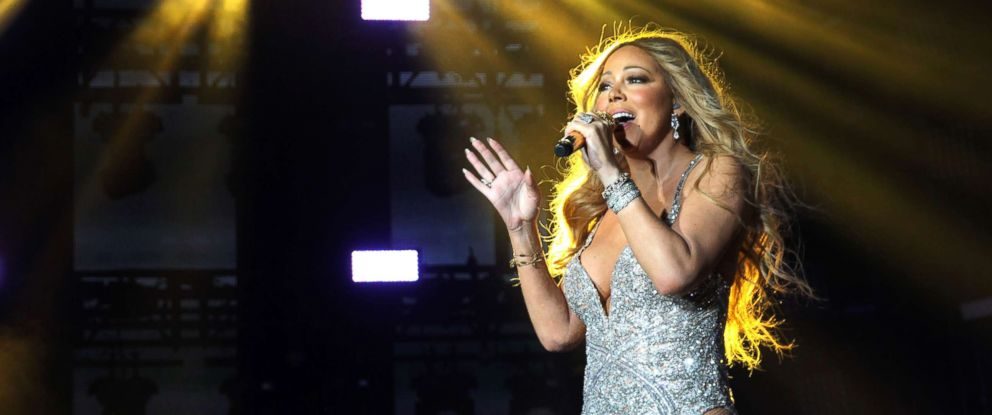 PHOTO: Singer Mariah Carey performs on stage during the 2016 Essence Festival at the Louisiana Superdome, July 2, 2016, in New Orleans.
