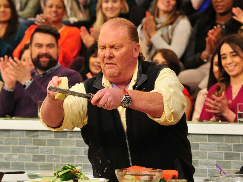 PHOTO: Mario Batali on ABCs The Chew, Feb. 26, 2016, in New York City.