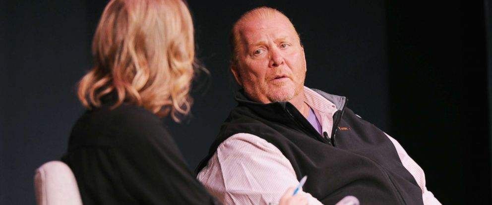 "PHOTO: Famed Italian chef Mario Batali was asked to step away from ""The Chew"" while ABC reviews sexual misconduct allegations."
