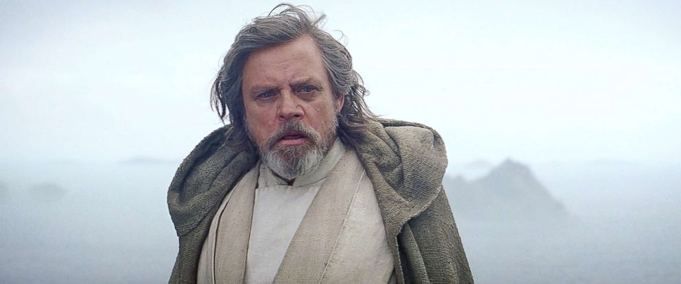 "PHOTO: Mark Hamill appears in a scene from ""Star Wars: Episode VII - The Force Awakens."""