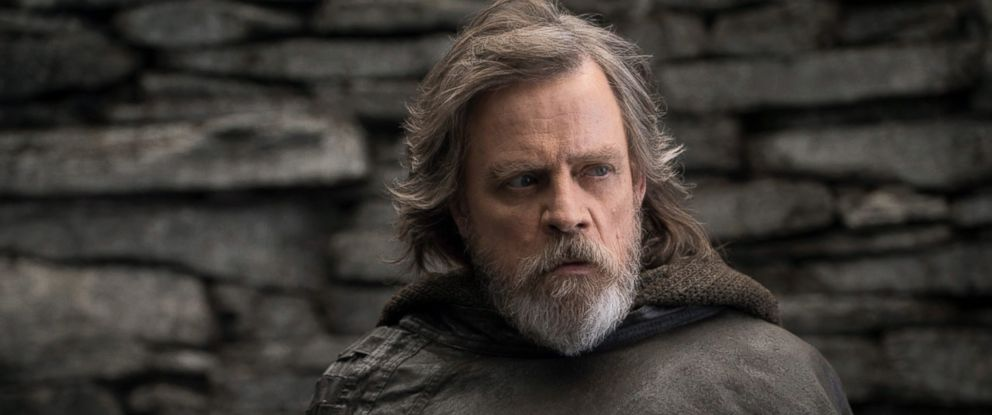 "PHOTO: Mark Hamill, as Luke Skywalker, in a scene from ""Star Wars: The Last Jedi."""