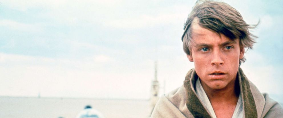 "PHOTO: Mark Hamill, as Luke Skywalker, in a scene from ""Star Wars: A New Hope."""
