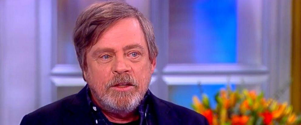 PHOTO: Star Wars star, Mark Hamill appears on ABCs The View, March 27