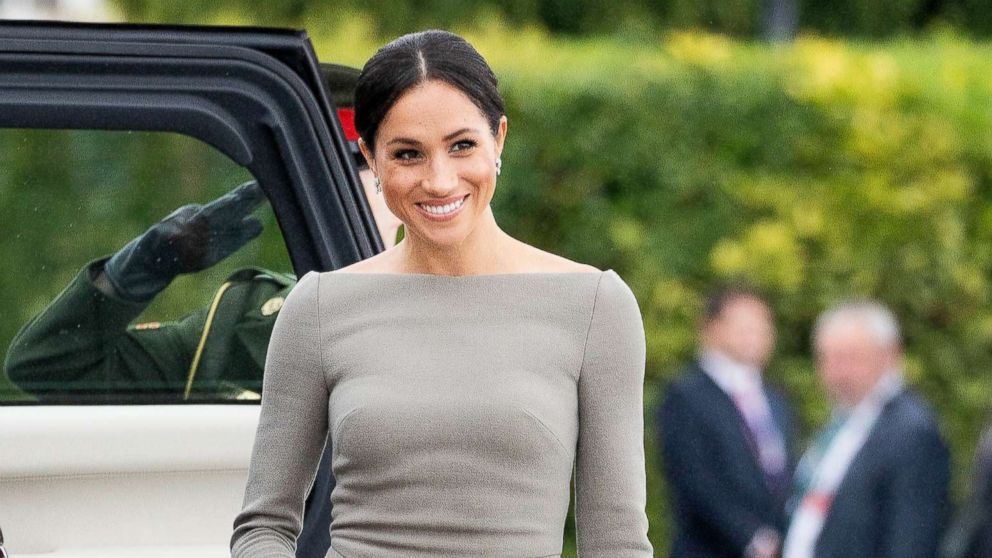 1df795a75a7af8 Duchess Meghan is bringing the boatneck back: How you can pull off the look  too - ABC News