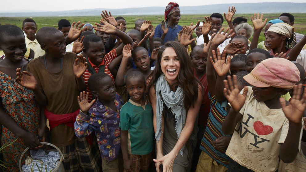 Meghan Markle has been an outspoken humanitarian. She became a global ambassador for the charity, World Vision, after visiting a rural area of Rwanda in 2016.