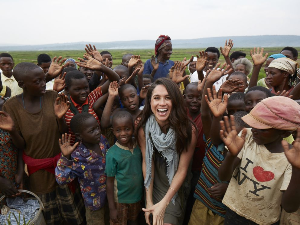 PHOTO: Meghan Markle has been an outspoken humanitarian. She became a global ambassador for the charity, World Vision, after visiting a rural area of Rwanda in 2016.