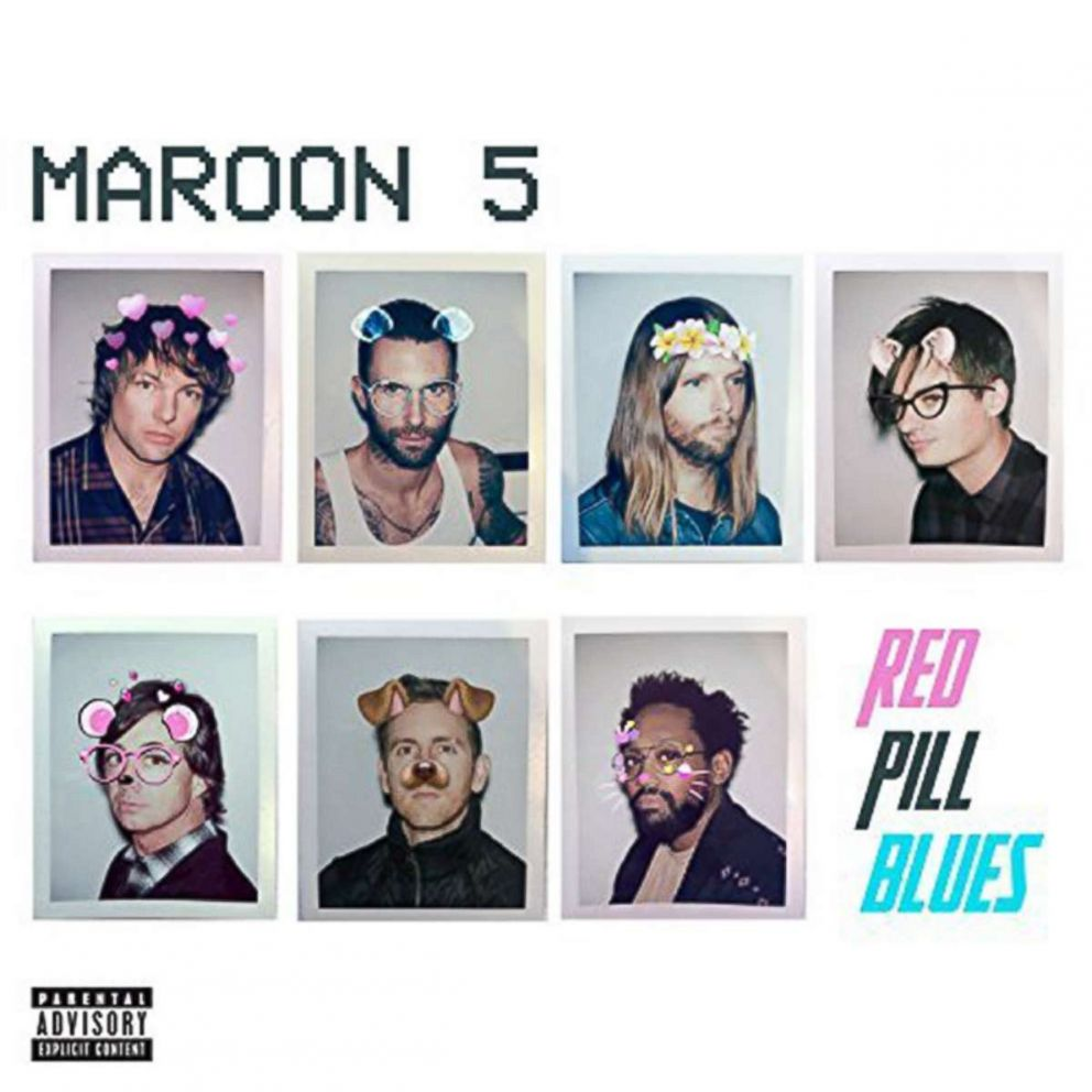 PHOTO: Maroon 5s album, Red Pill Blues (Deluxe)