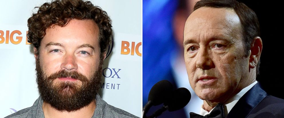 "PHOTO: Danny Masterson, left, attends the premiere of ""Big Bear"" at The London Hotel, Sept. 19, 2017, in West Hollywood, Calif. Kevin Spacey onstage at the 2017 British Academy Britannia Awards at the Beverly Hilton Hotel, Oct. 27, 2017, in Beverly Hills."