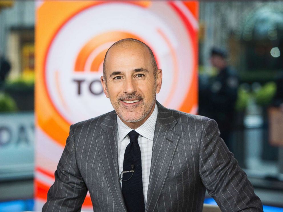 PHOTO: Matt Lauer is pictured on the set of the Today show in New York, Nov. 8, 2017.