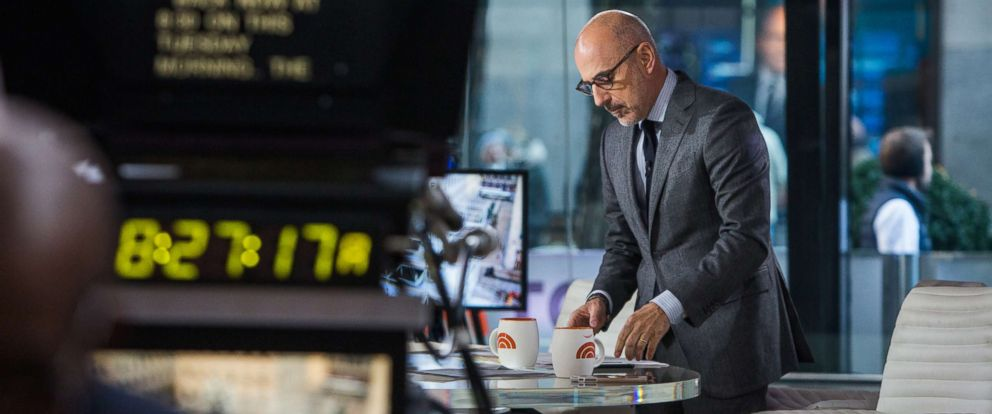 """PHOTO: Matt Lauer on the """"Today"""" show in this Nov. 21, 2017 file photo."""