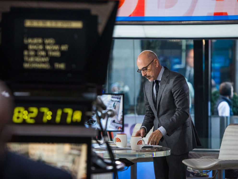 PHOTO: Matt Lauer on the Today show in this Nov. 21, 2017 file photo.
