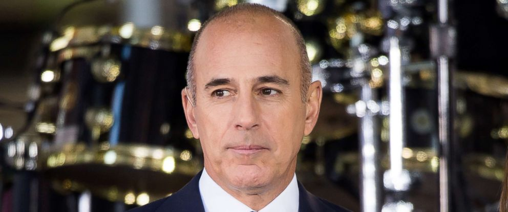 "PHOTO: Matt Lauer attends NBCs ""Today"" at Rockefeller Plaza in this Sept. 29, 2017 file photo in New York City."