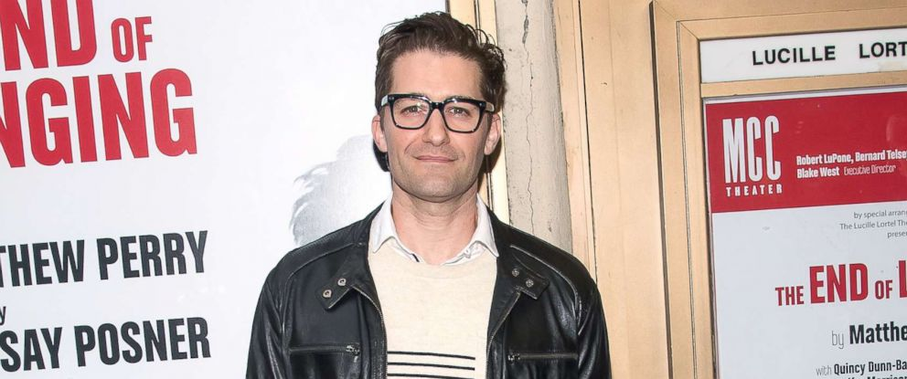 """PHOTO: Matthew Morrison attends the """"The End Of Longing"""" Opening Night at Lucille Lortel Theater,June 5, 2017 in New York City."""