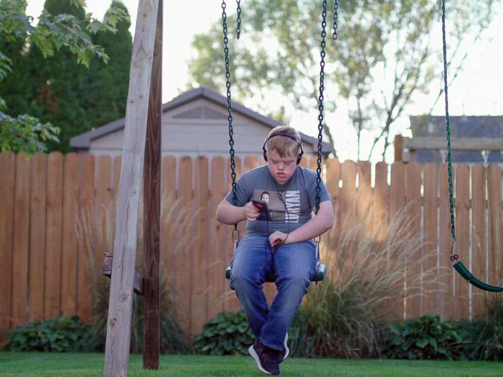 PHOTO: Fourteen-year-old Max Bird might be Luke Bryans biggest fan.